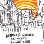 "@omuletiinalbsinegru: ""România din ilustrațiile mele este România din fața ochilor."""